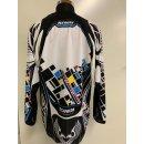 Kenny Titanium Element Serie Crossshirt schwarz/bunt Gr. M