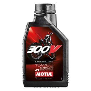 300V 4T 15W-60 100%Synthetic 1L